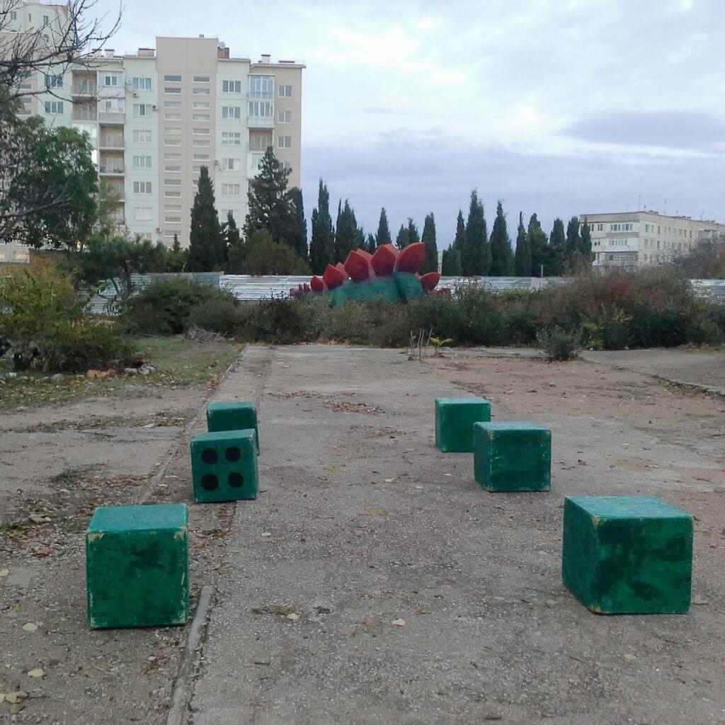 про кубики из Динопарка. дизайн-эксперимент #севпарки
