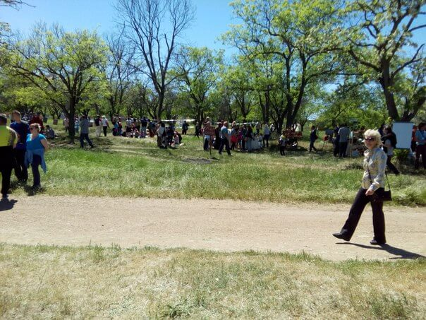 Арт-пикник в Учкуевки: начало перезагрузки зелёных легких Северной