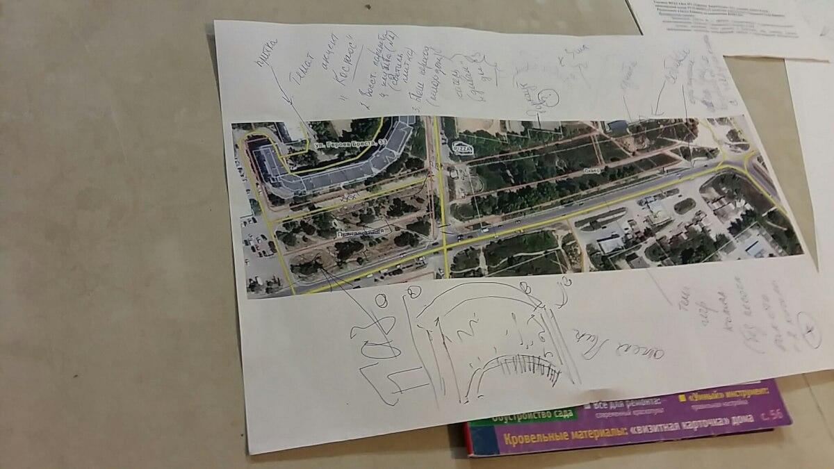 Общественное проектирование сквера Байконур