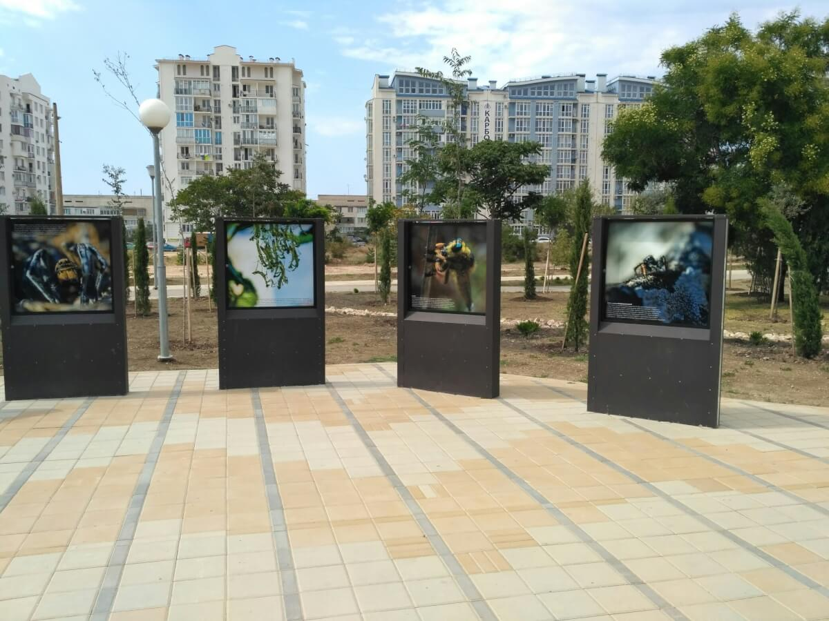 Выставка «Другой мир» в Динопарке