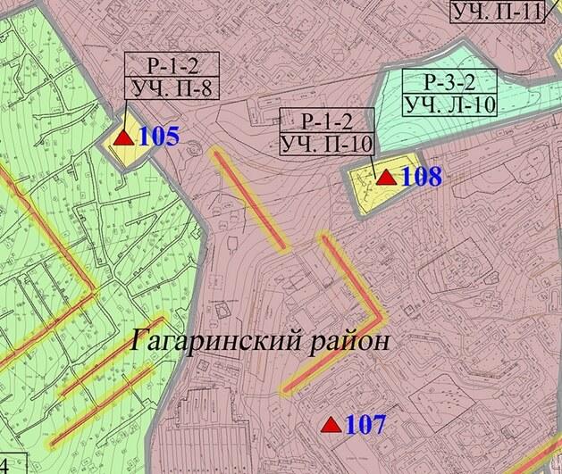 Участвуем в проектировании трех античных парков