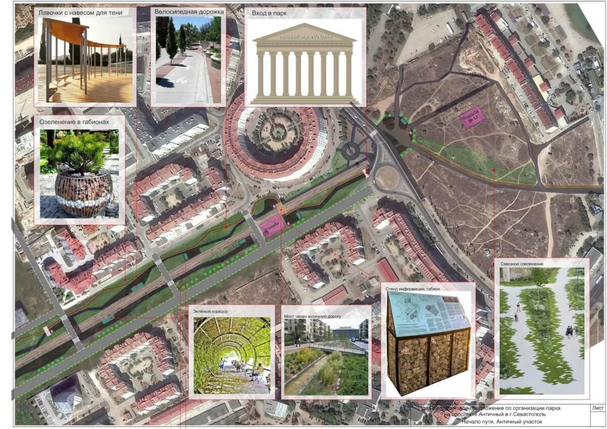 Античный парк или дорога? Что выбираешь ты?