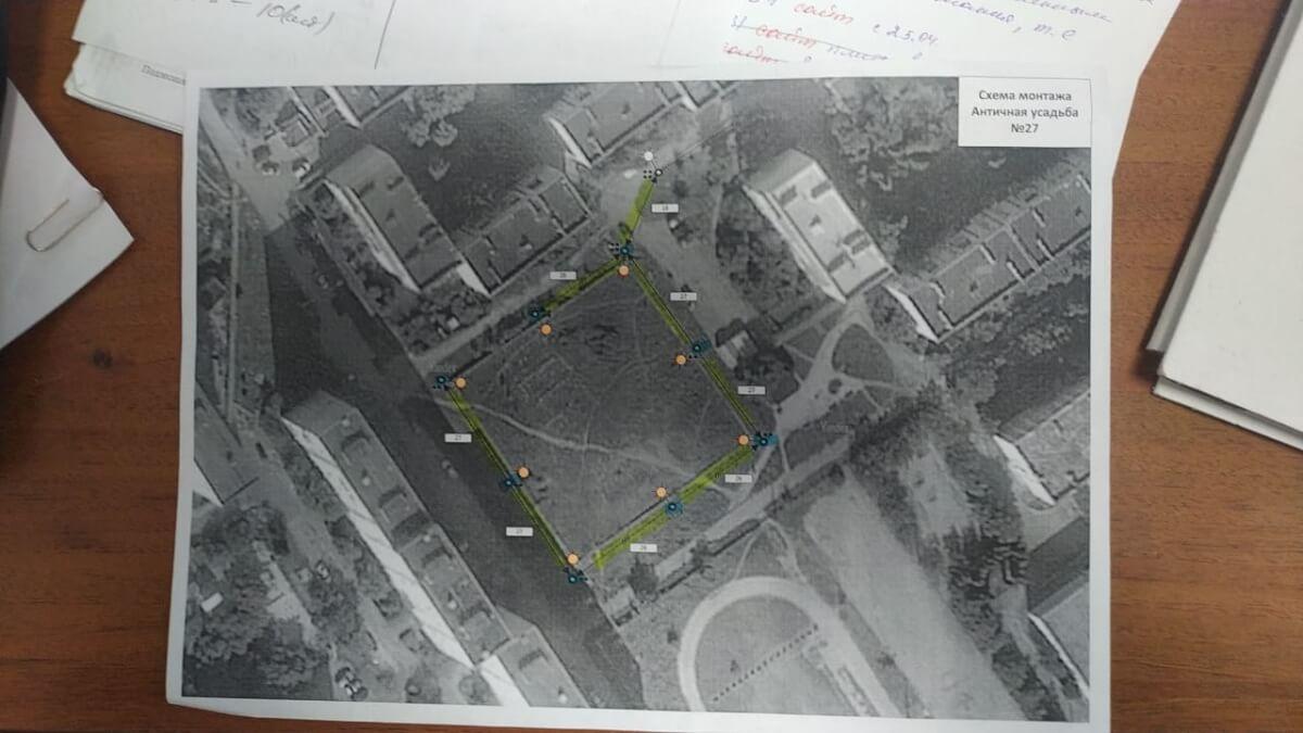 Горсвет планирует осветить античные усадьбы